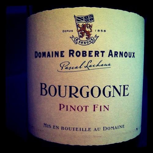Robert Arnoux Bourgogne 2002