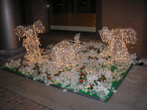 Christmas elephants?!