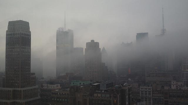 Fog this morning