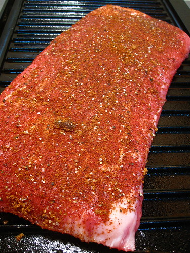 Chipotle rubbed Flank Steak