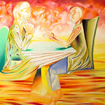 """therapy conversation 2 2004 <a style=""""margin-left:10px; font-size:0.8em;"""" href=""""http://www.flickr.com/photos/30723037@N05/5242870454/"""" target=""""_blank"""">@flickr</a>"""