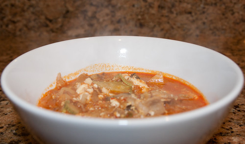 Kimchi Dubu Jigae (김치 두부 찌개)