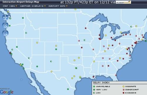 Weather Mess via FlightStats
