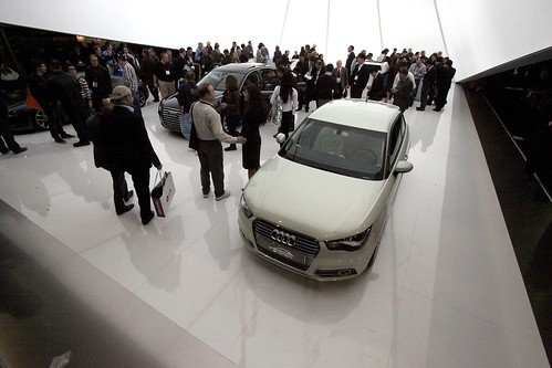 Audi booth at CES