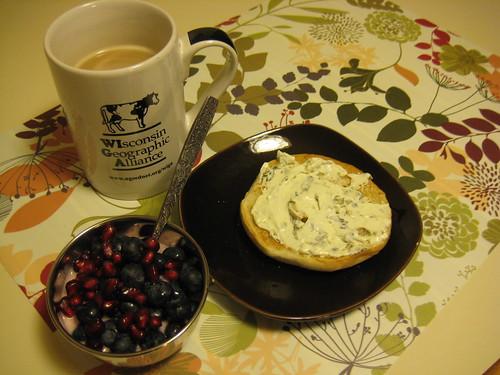 breakfast on 1-12-11