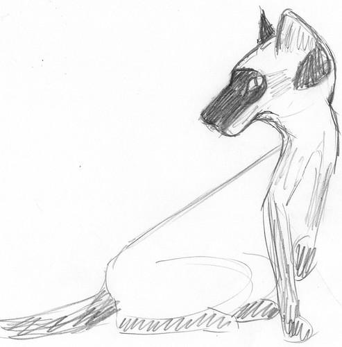 Pencilcast 2011-01-19 - Siamese cat # 4
