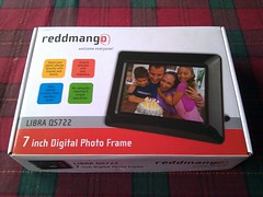 reddmango 7 inch digital photo frame