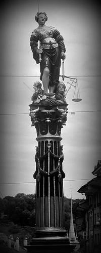 Justice Fountain, Bern