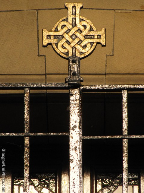 Ornate Chapel Gate