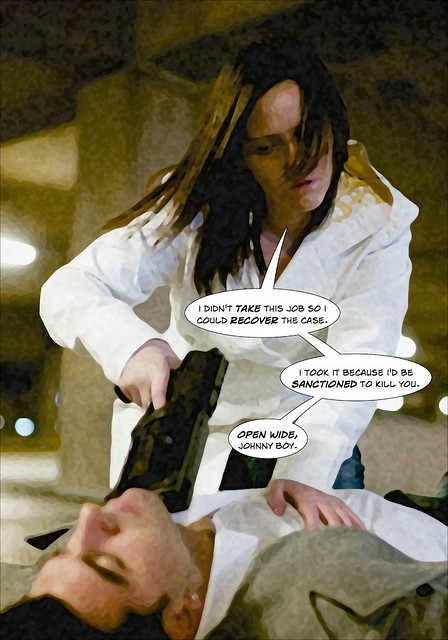Amber & Nick Action Shoot - Comic, Page 6 of 6