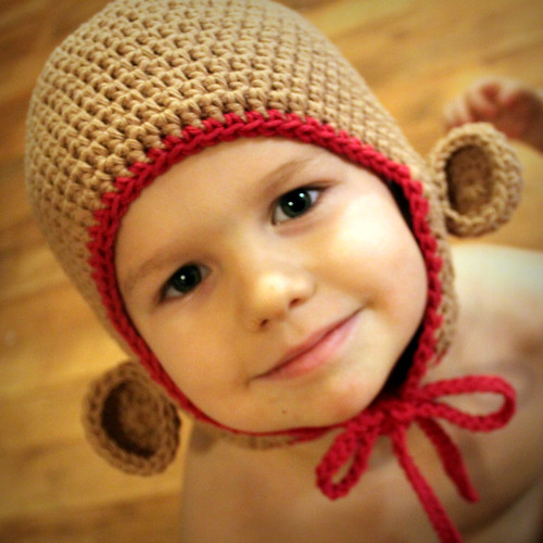 Free Crochet Pattern Monkey Hat Mamachee