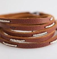 leather wrap bracelet london anaise
