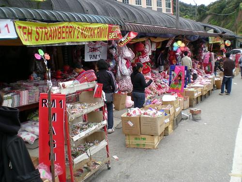 Cameron - roadside stalls