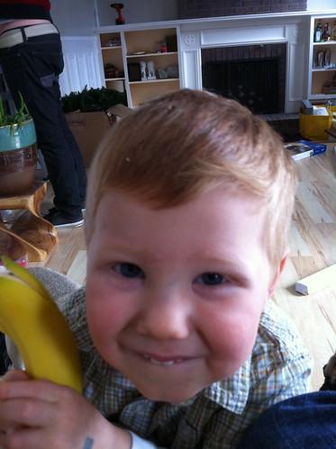 Sneaky Banana Monster