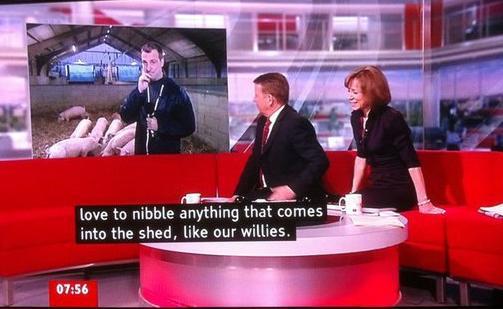 BBC Breakfast Willies