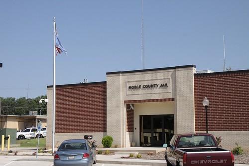 OK - Perry Jail where Tim McVee was held (closer)