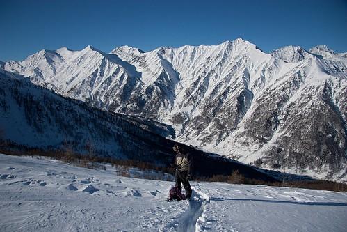Tra le montagne