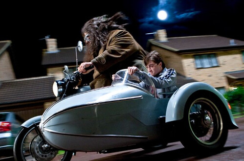 Robbie Coltrane and Daniel Radcliffe, Harry Potter and the Deathly Hallows, part 1 - © Warner Brothers Entertainment Inc