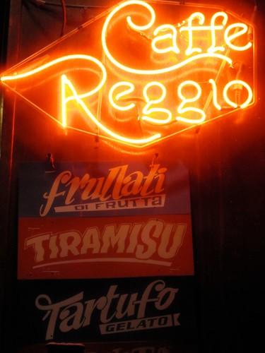 Caffe Reggio Neon Sign