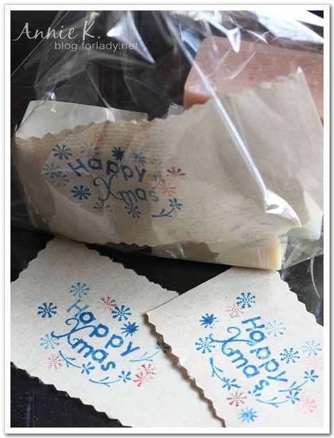 耶誕手工皂2