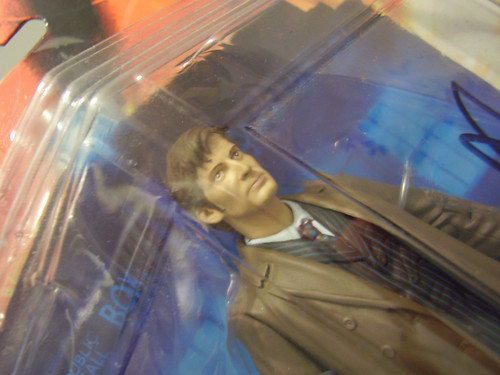 Signed David Tennant Dr Who figure