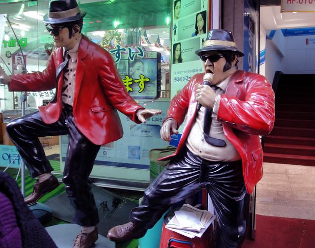 More Blues Brothers in Namdaemun Market