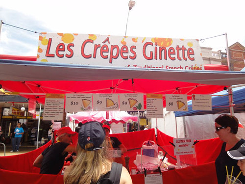 Dulwich Hill Street Fair: Les Crepes Ginette