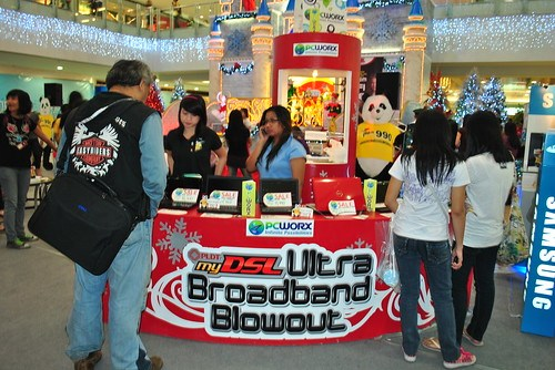 Ultra Broadband Blowout of PLDT myDSL at SM Megamall