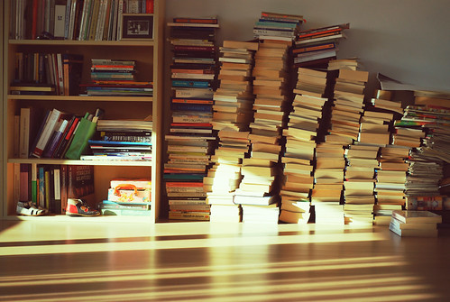 Books waiting