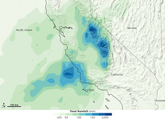 Heavy Rains Soak California