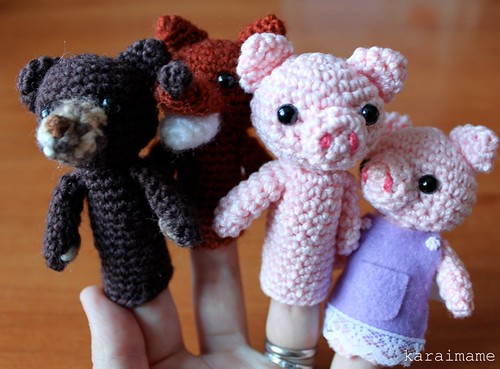 Finger puppets - Christmas gifts