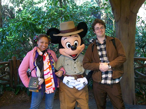Us with Mickey Mouse!