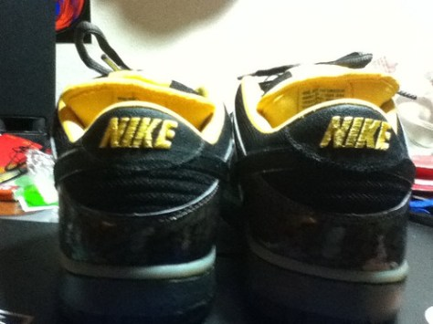 Nike SB Yellow Curb Dunk Low by ryanmotoNSB, on Flickr