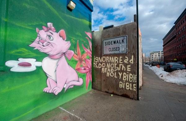 juxtaposition: Mott Haven Bronx