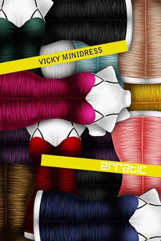 / erratic / vicky dress