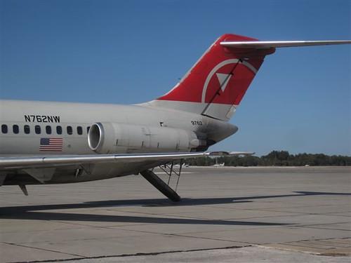 Northwest DC-9-40s Retired