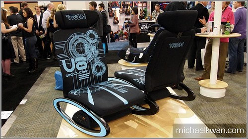 Tron Gamer Chair (CES 2011)