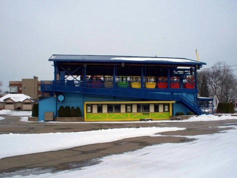 Cedar Point - Off-Season Skyride Station