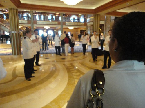 The Grand Lobby - The Disney Dream