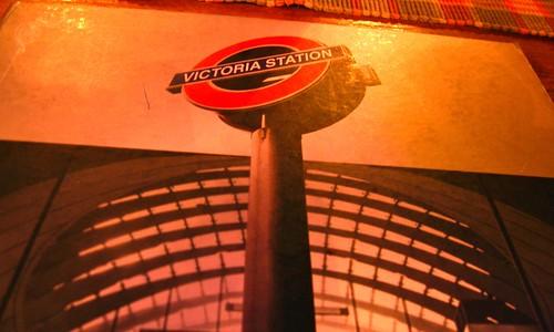 Victoria Station's Menu