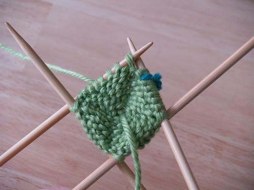 Knit Gumdrops, Step 2