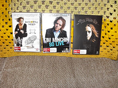 Tim Minchin DVDs