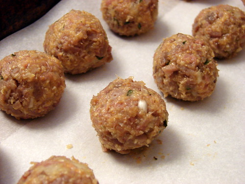 balls, formed