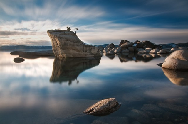 Zen and the Art of Wasting Time - Bonsai Rock, Lake Tahoe, Nevada