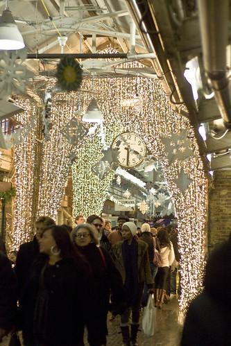 Lights in Chelsea Market