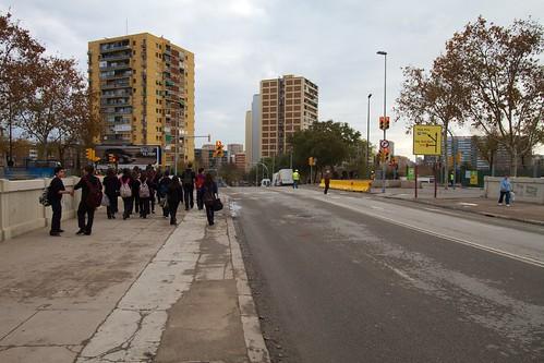 Corte en Ronda Sant Martí con Pont del Treball 02- 09-12-10