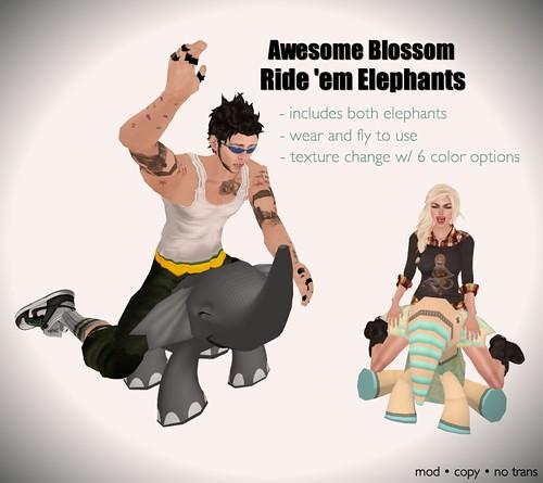 Ride 'em Elephants for Lazy Sunday