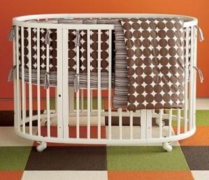 stokke round crib