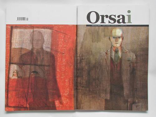 Orsai #1 - Portada y contraportada