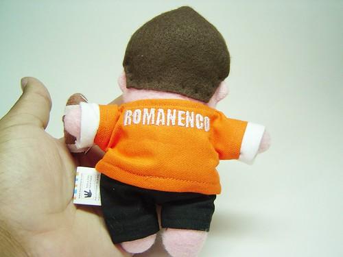 Mini-mi jogador de futebo americano (costas)